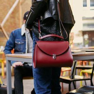 Cambridge satchel poppy crossbody ox blood